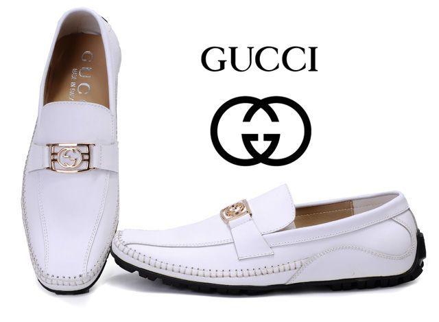 white men's sandals | Cheap Mens Gucci Leather Shoes,Online sale ...