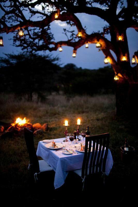 Pin by Debbie Warren-Berry on Backyard Lighting | Romantic ...