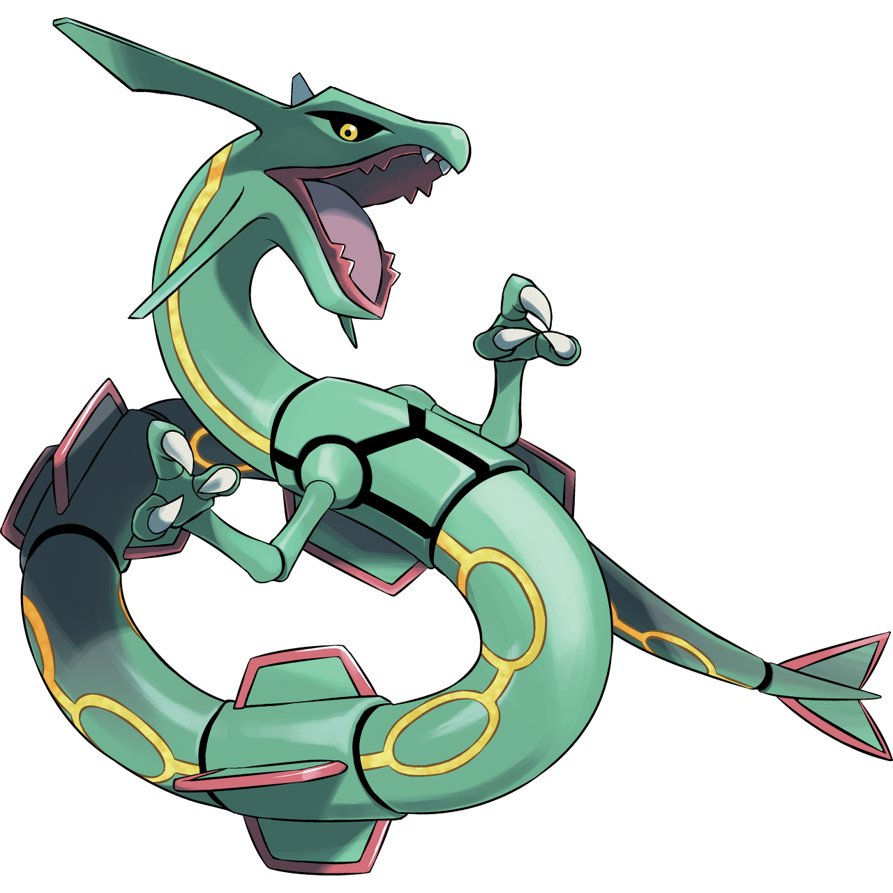 Day 5 Favorite Legendary is Rayquaza! He holds a very special place in my heart. One of the first games I ever fully beat was Emerald and he was on my team when I defeated the Champion! Plus his design is awesome, and with his new Mega form, he's even cooler now!