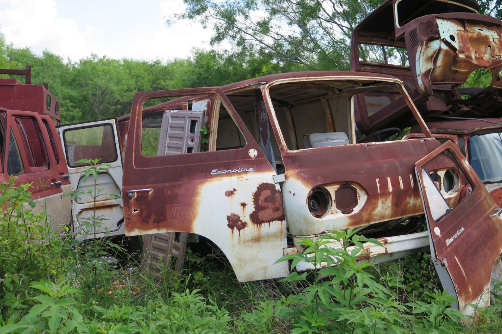 Ford Econoline Wrecking Yards Old Cars Hot Rods