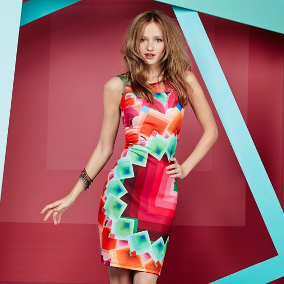 Desigual women 39 s margaret dress do you know who wore this for Desigual oficinas barcelona