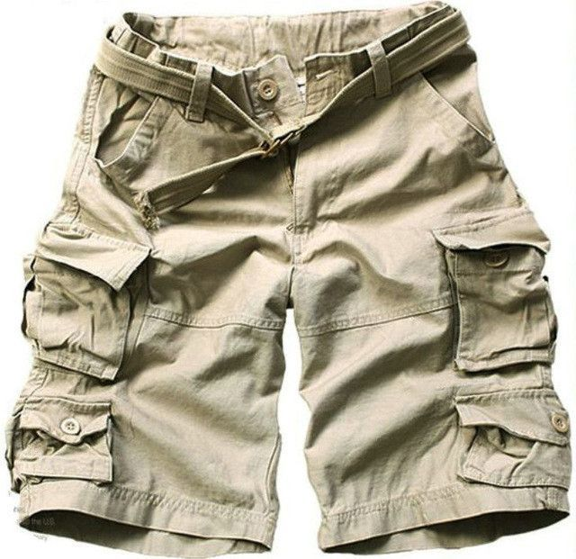 531250c602 MISNIKI Free Belt Top Selling High Quality Mens Cargo Shorts Multi-pocket  Solid Men Short Pants