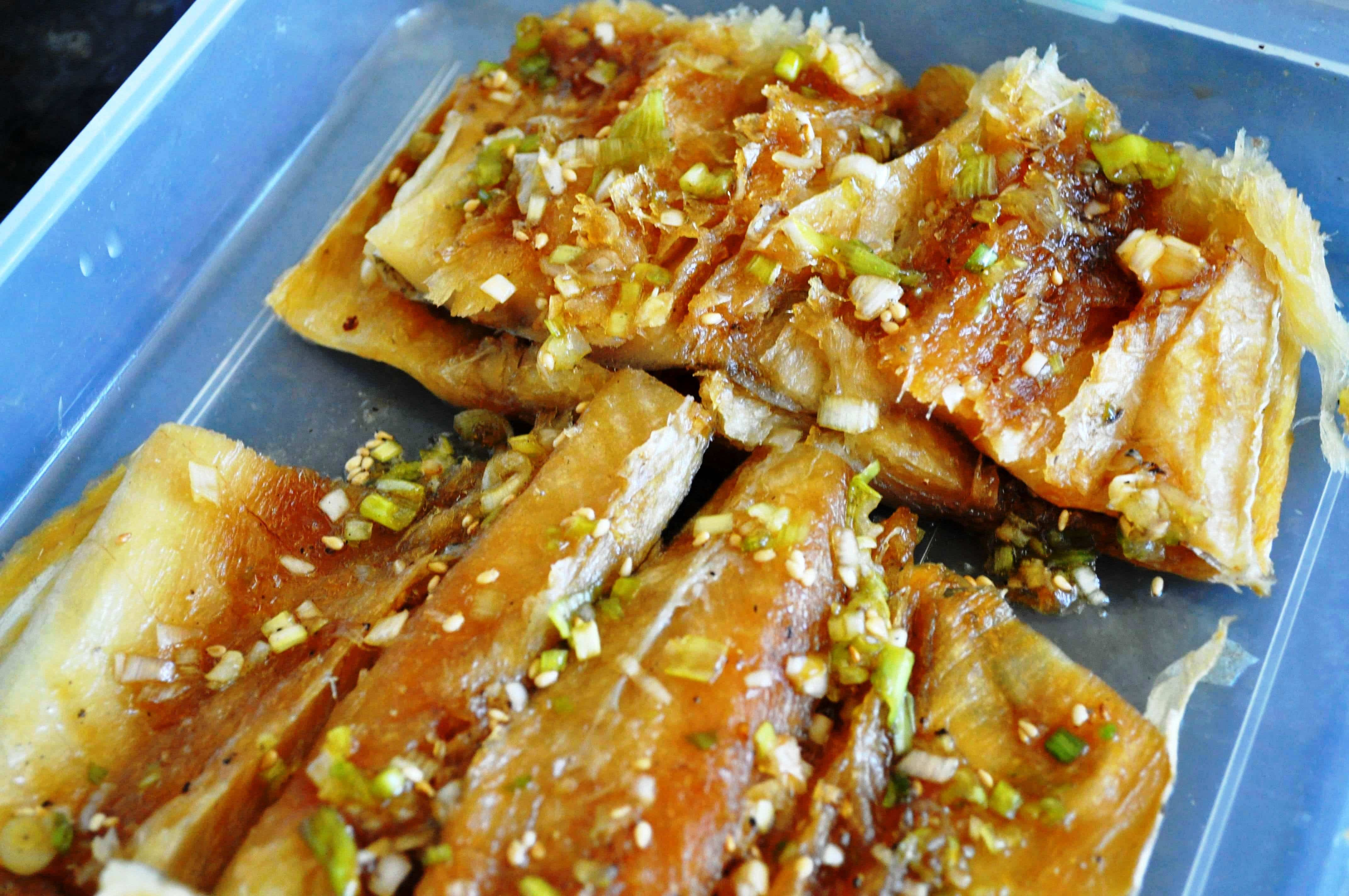 marinated dried pollock (bugeo)