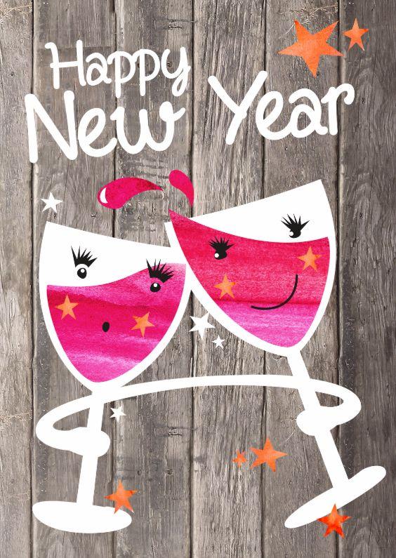 Alle Nieuwjaarskaarten van Kaartje2go   nieuwjaars kaarten ...