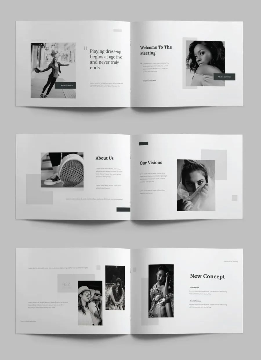 A5 Landscape Magazine Template 30 Pages In 2020 Booklet Design Layout Page Layout Design Indesign Layout Inspiration