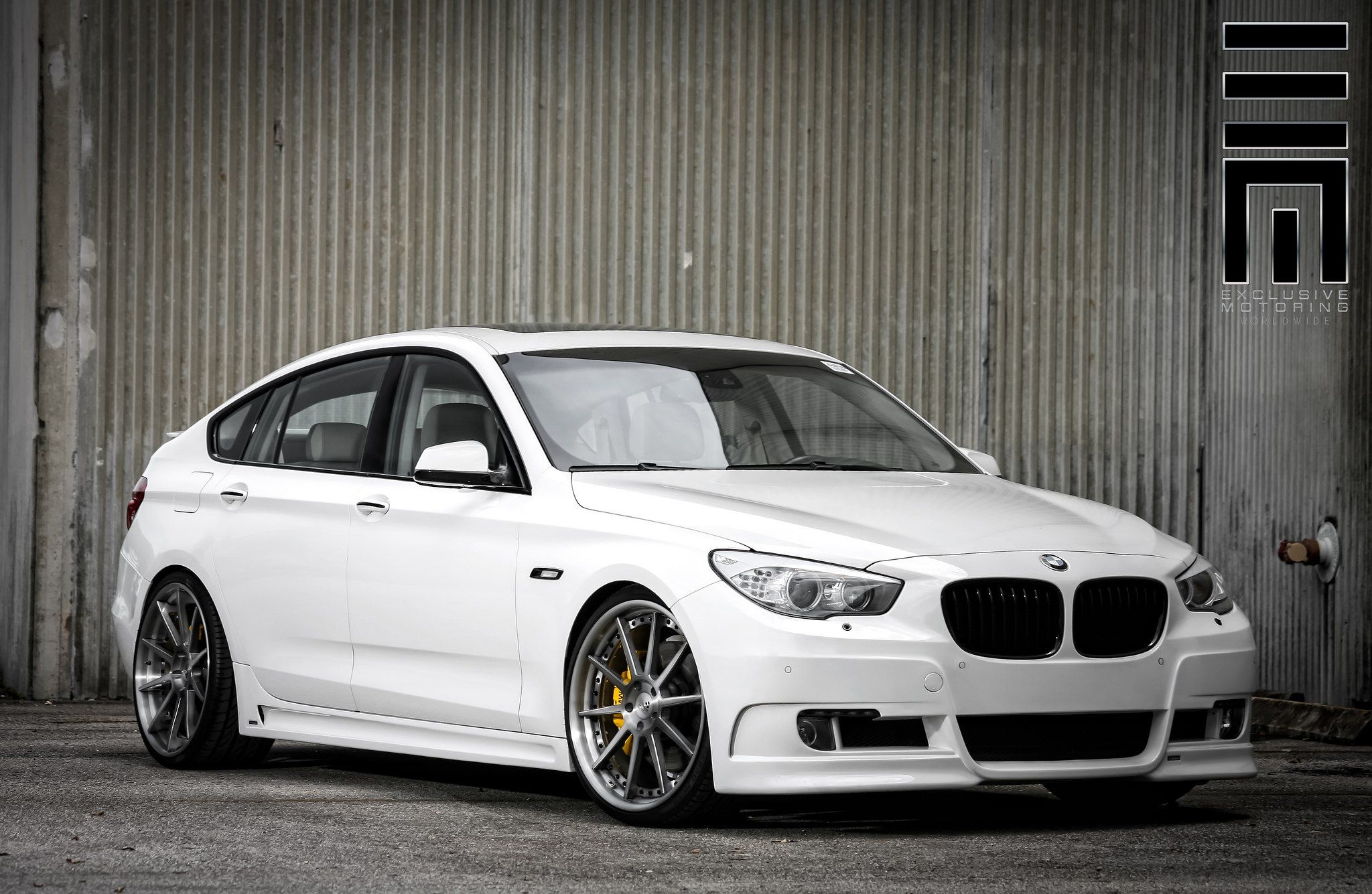 Bmw 550 Grand Touring With Some Nice Stance By Exclusive Motoring