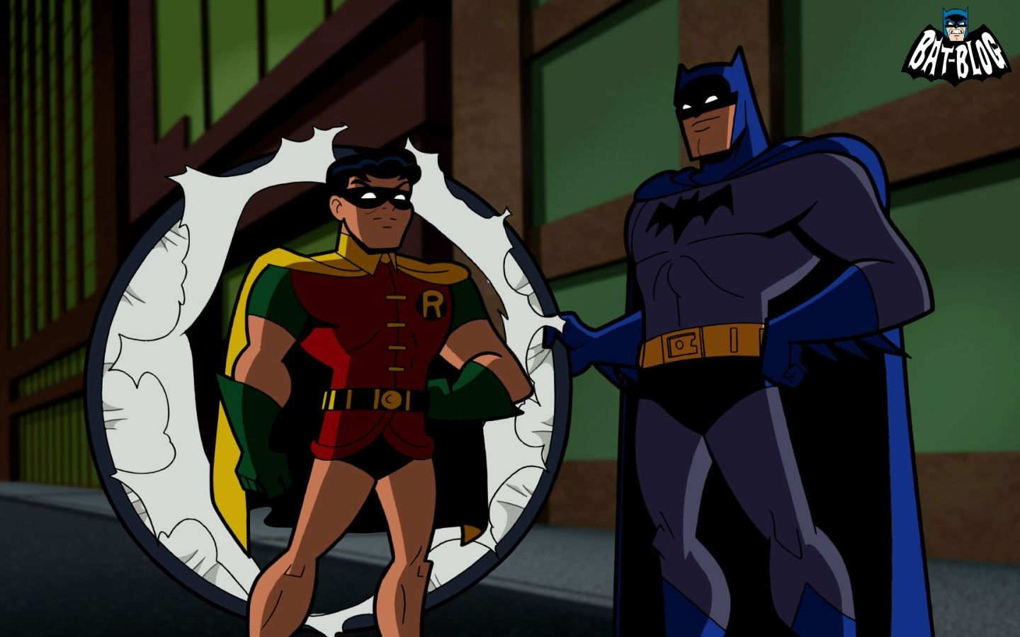 Batman And Robin From The Brave And The Bold Cartoon With Images