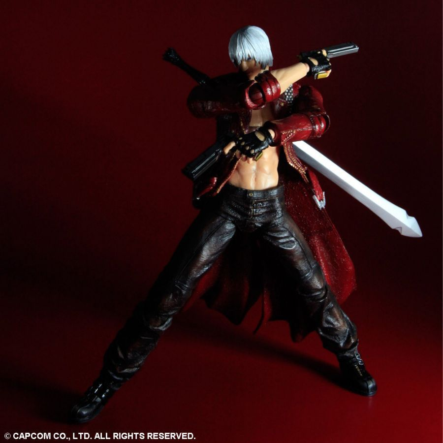 Play Arts Kai Devil May Cry Dante By Square Enix - Free contractor invoice square enix online store