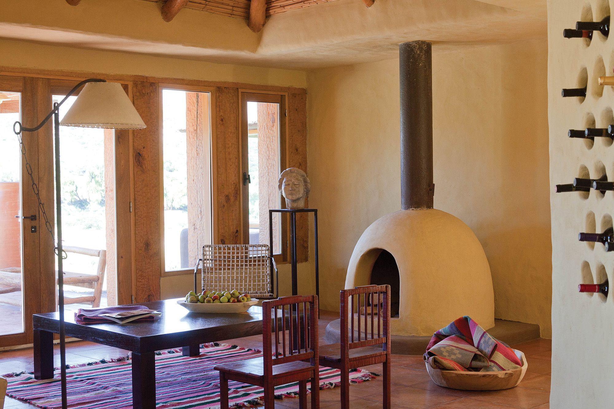 Una casa de fin de semana rescata la esencia andina en la