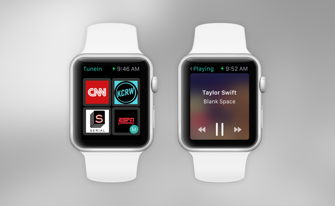 TuneIn Radio Now Works With the Apple Watch and CarPlay