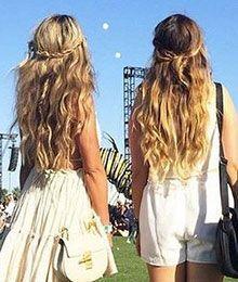 Und Die Beliebteste Festival Frisur 2015 Ist Haare Festival