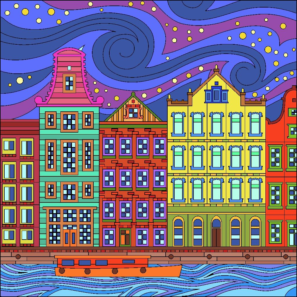 Pin By Wayne Rowell On Color By Number Happy Colors Coloring Apps Coloring Books