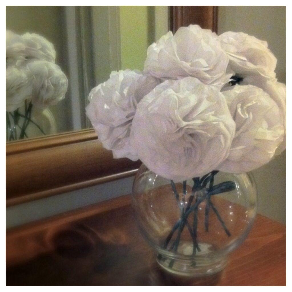 Tissue Paper Flowers Home Diy Pinterest Tissue Paper Flowers