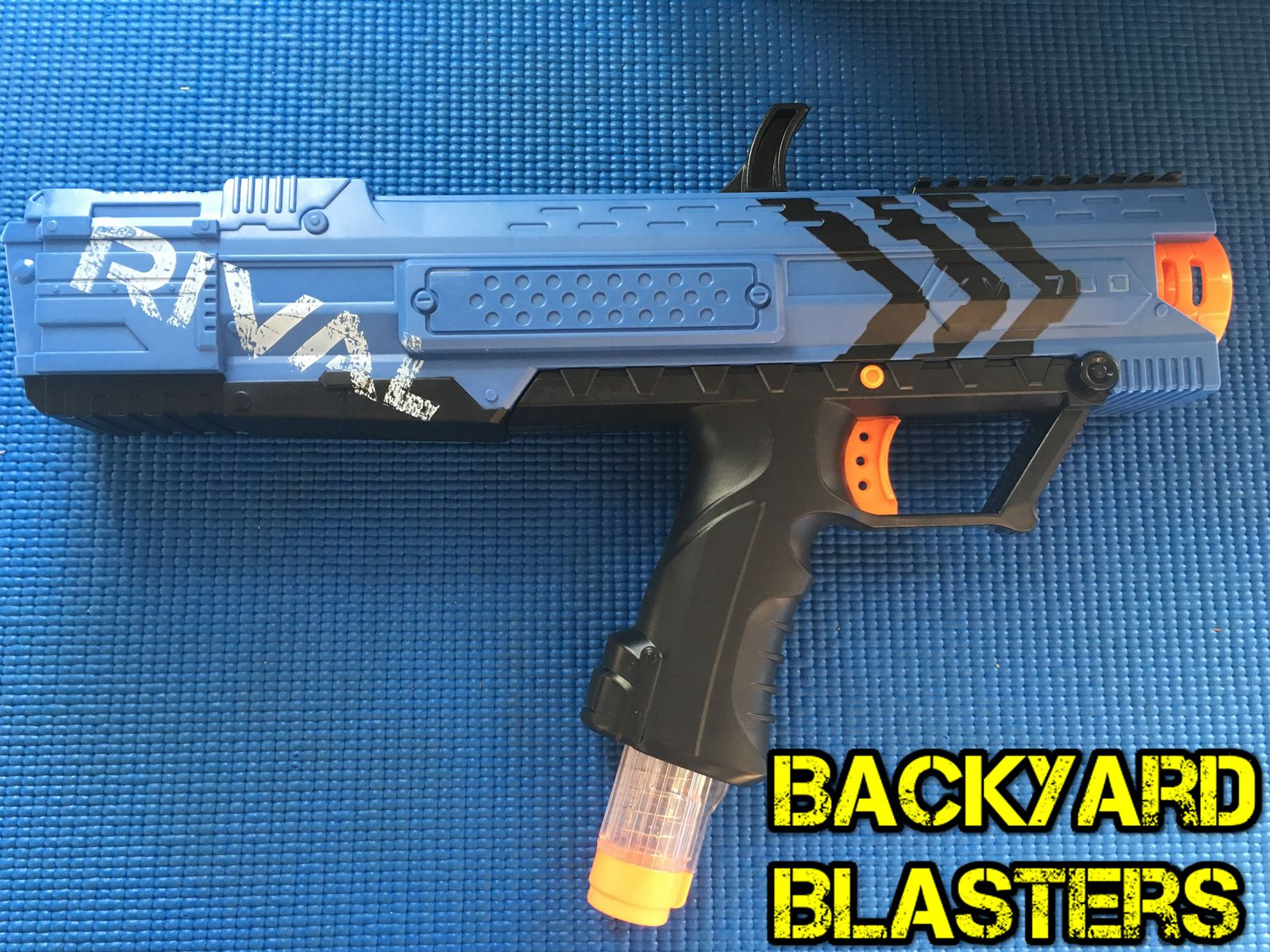 Its the Nerf Rival Apollo! Pat on the back if you guessed it right! But we  should really ask you guys, what is your favourite Rival Blaster?