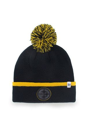 242594ad 47 Pittsburgh Steelers Orange Baraka Knit Hat | NFL - Pittsburgh ...