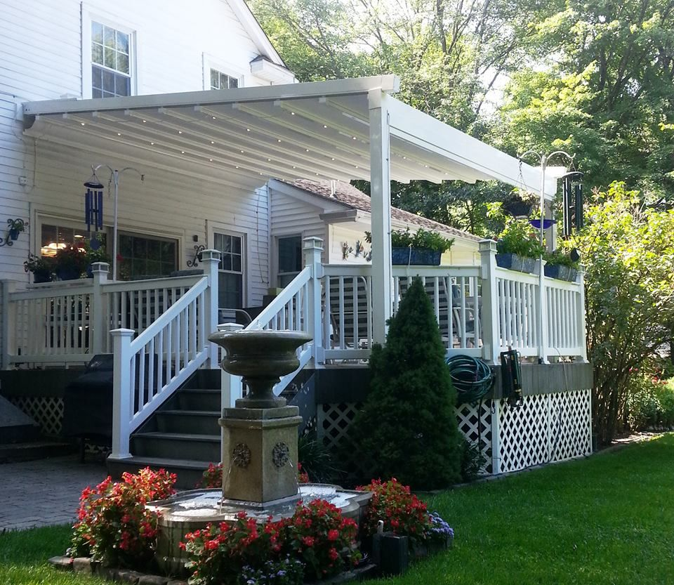 Milanese Remodeling Model Remodelling Pergola Plus Awning  The Only Windproof & Rainproof Retractable .