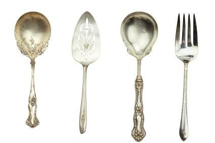 Antique Silverware- Sterling vs. Silver plate. Info about markings to figure out value  sc 1 st  Pinterest & Antique Silverware- Sterling vs. Silver plate. Info about markings ...