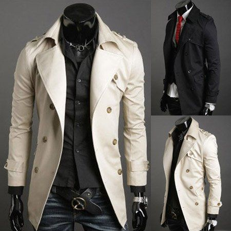 1000  images about Coats on Pinterest | Men's leather Double