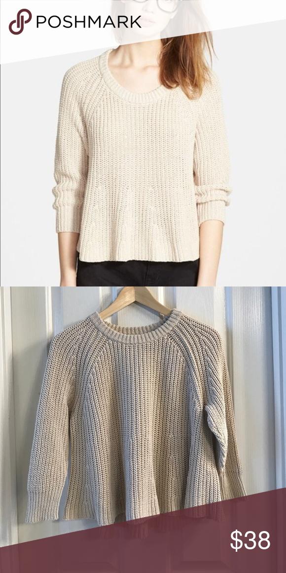 Madewell Sweater | Madewell, Hemline and Scoop neck