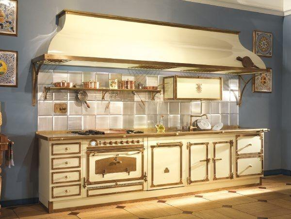 cocina clásica de metal TORRICELLA GTO340R RESTART Kitchens