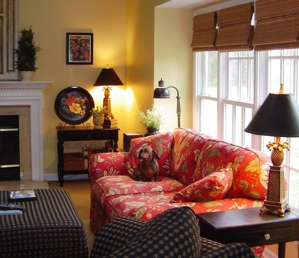 Family Rooms We Love: This Room Was The Inspiration For The Paint Color In Our
