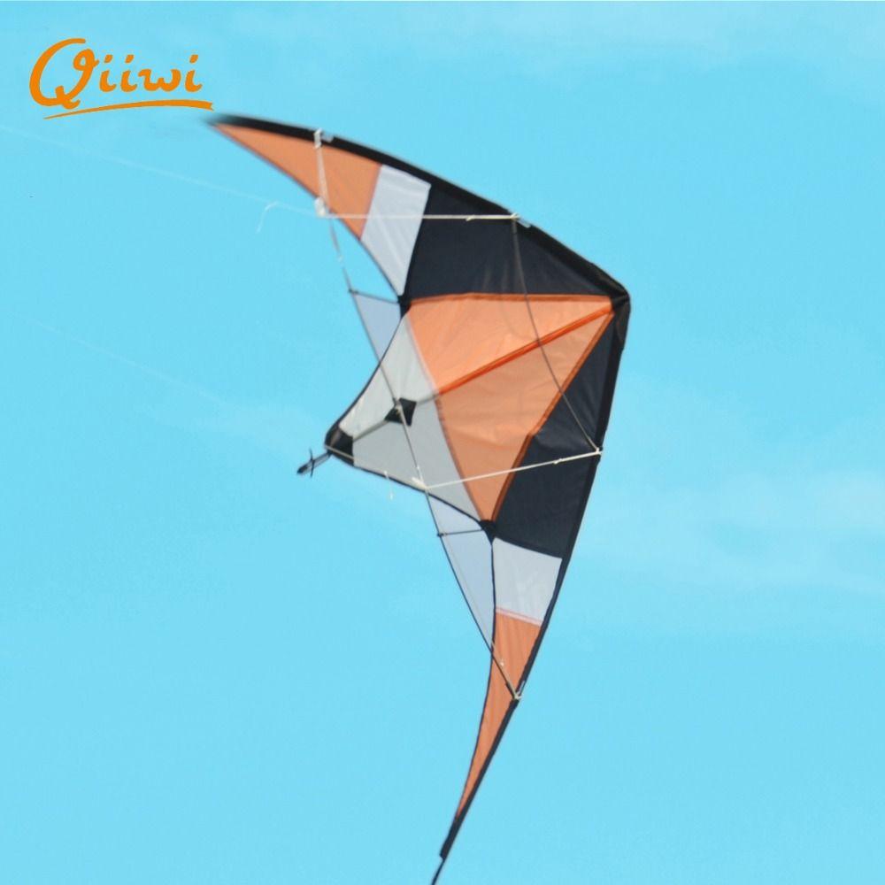 Beliebte Stunt Vlieger Polyester Sport Kites Einfach zu Montieren und Fliegen Dual Line Dleta Lenkdrachen Verschiffen Für 10 Erwachsene