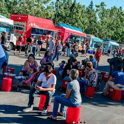 Moveable Feast in San Jose, CA - You'll definitely want to find out where this amazing food truck experience is going to be on your visit to San Jose. From Vietnamese to Cajun, from Arabian to Soul, you can take your taste buds on an unforgettable food adventure each time you attend. via @thewaytosanjose