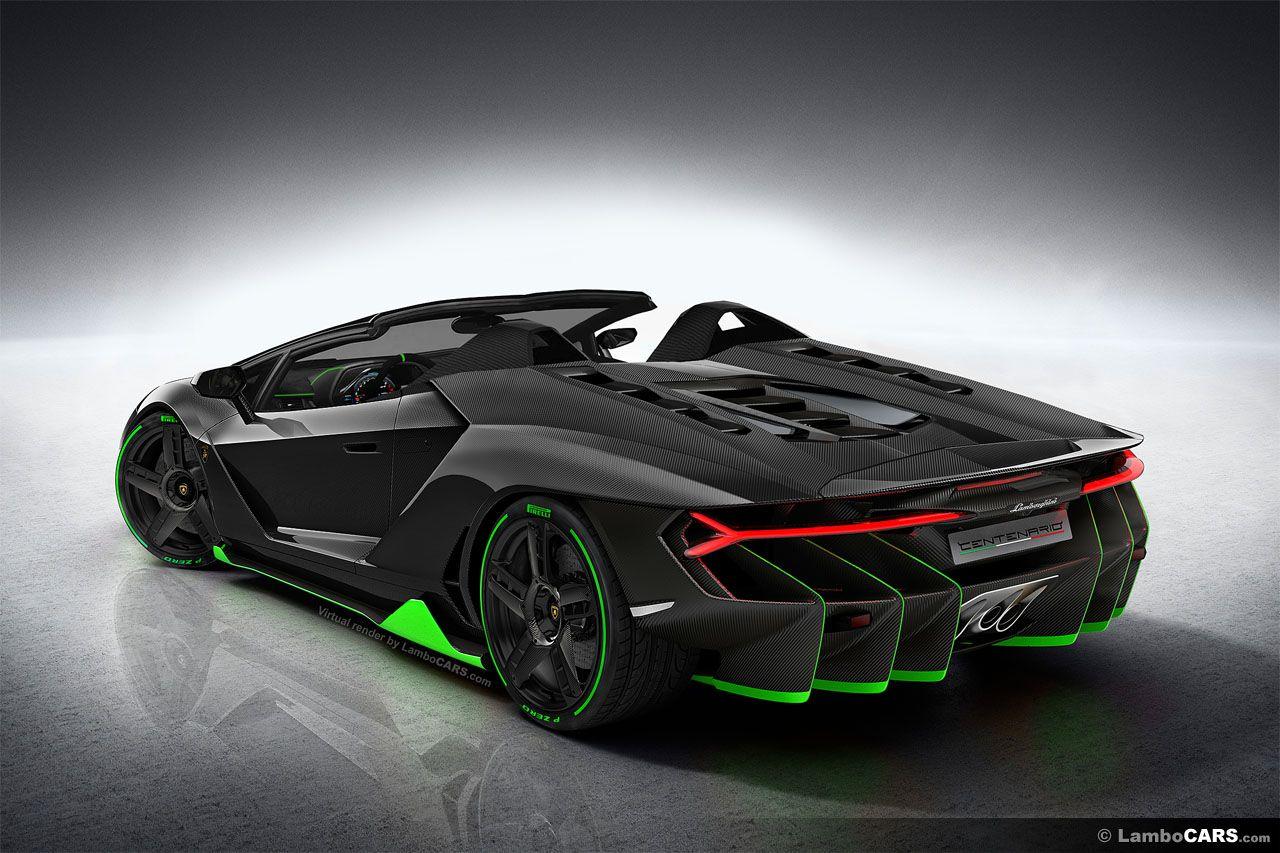 Lamborghini Centenario LP770-4 Roadster version | Lamborghini ...