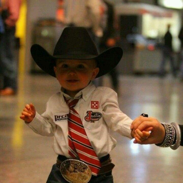 Cutest cowboy ever!