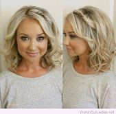 23 Short Hairstyle for Wedding Guest Unique Short Curly Hairstyles for Wedding Guests #hairstylesforweddingguest