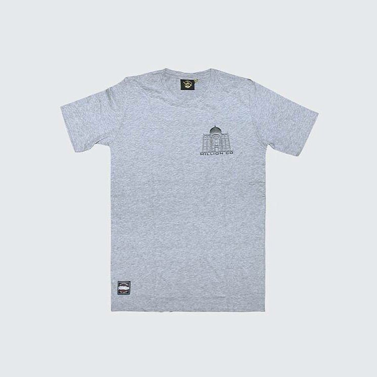 Monument Grey Tee. . Price : RM60. Size : S M L XL . . Order now and enjoy free postage to peninsula Malaysia only . More info DM or whatsapp 014 3113394  or email : order.million@gmail.com  . #tempatanfest #streetwearkl #happycompany #curruptcity #millionco #johor #trustyourownways