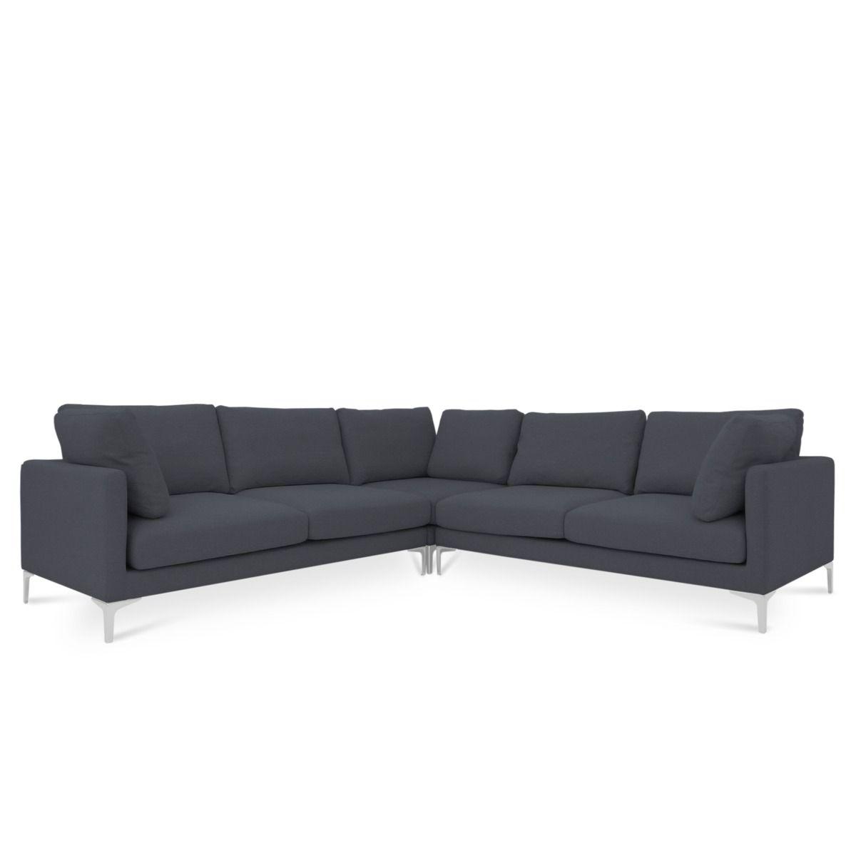 Adams L Shape Sectional Sofa Sectional Sofa L Shaped Sofa Classic Living Room