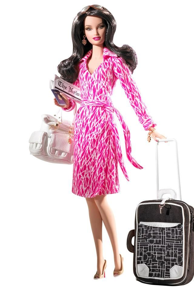 Diane Von Furstenberg Barbie Doll J9185 Barbie