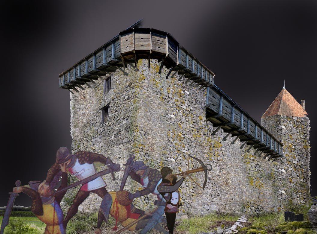 Torre de Burón A Fonsagrada,Idade Media,ballesta,historia de ...