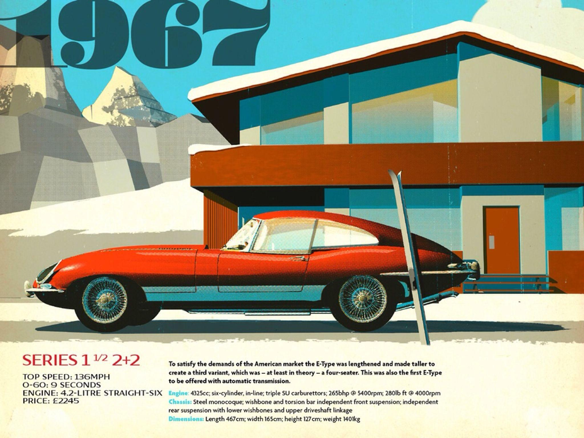 Jaguar advertising. Car artwork, Transportation poster