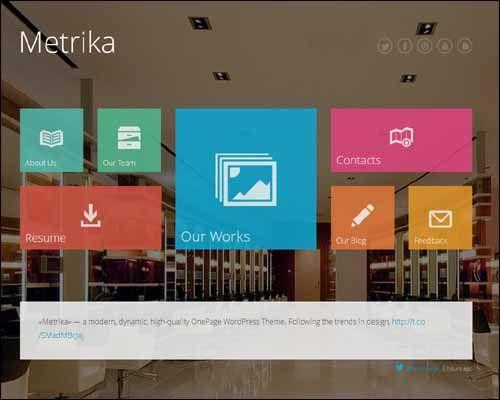 75+ Best Metro WordPress Themes | Designrazzi #wordpressthemes ...