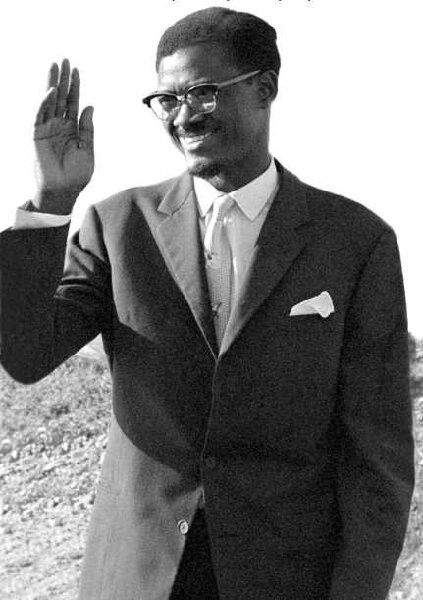 The Great Patrice Lumumba Patrice Black Panther Civil Rights Strong Black Man