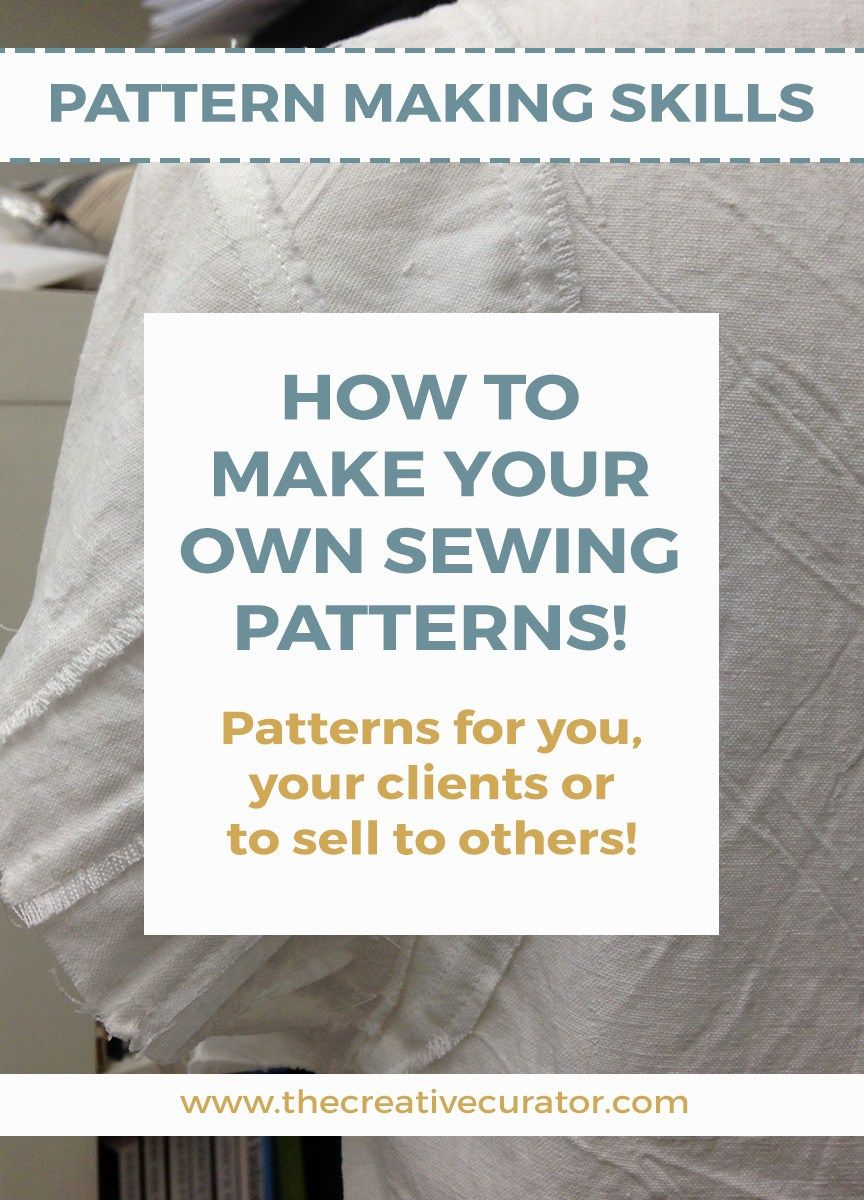 How To Make Your Own Sewing Patterns: Getting Started | Sewing ...