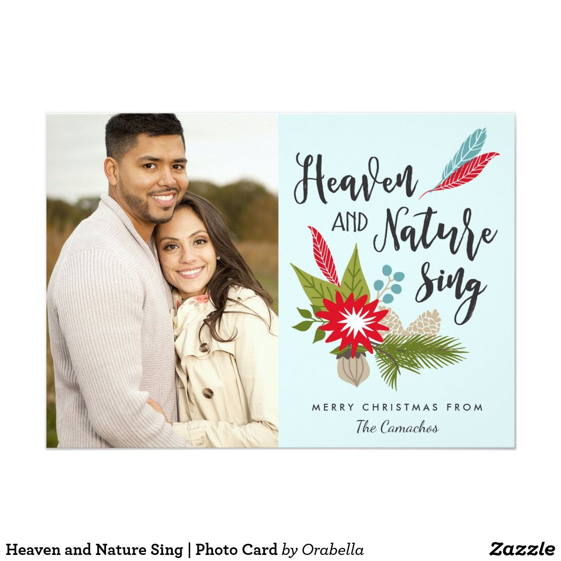 Heaven and Nature Sing | Photo Card