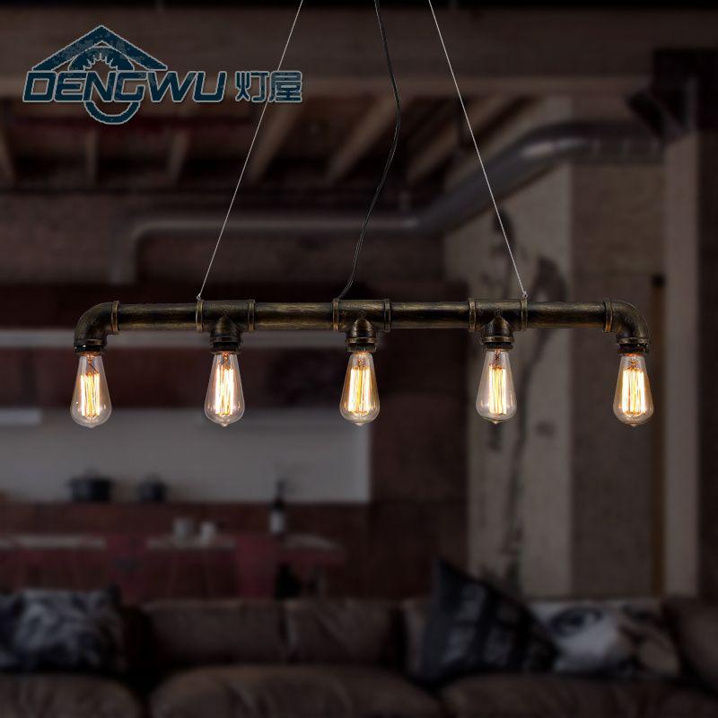 Italië Vintage Lampen, Licht Industriële Loft Huis Retro Stijl Kroonluchter  Verlichting Bar Cafe Bar