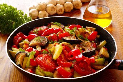 Ratatouille - lots of nightshade veggies in this recipe)
