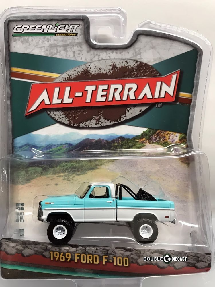 1 64 Greenlight All Terrain Series 6 1969 Ford F 100 Perfect