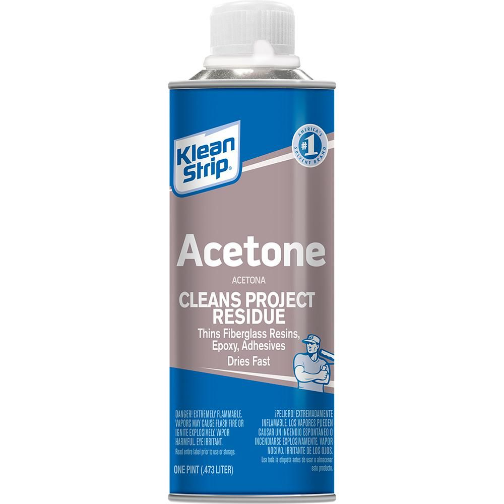 Klean-Strip 16 oz  Acetone-PAC181 | Products in 2019