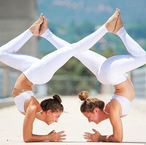 yoga clothes  yoga yogainspiration  acro yoga poses