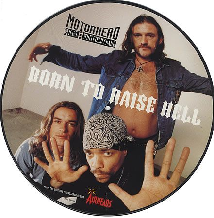 "For Sale - Motorhead Born To Raise Hell UK 12"" vinyl picture disc 12inch picture disc record - See this and 250,000 other rare & vintage vinyl records, singles, LPs & CDs at http://eil.com"