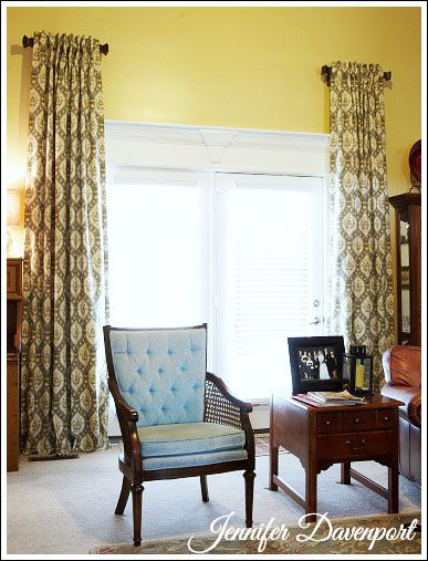 Window Treatment Ideas | Window, Custom curtains and Short curtain rods