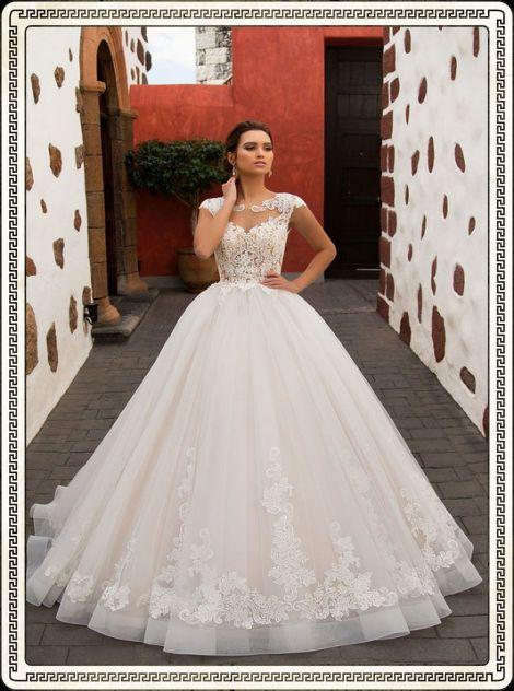 Пышные свадебные платья и А- силуэта - фото, цены в ...