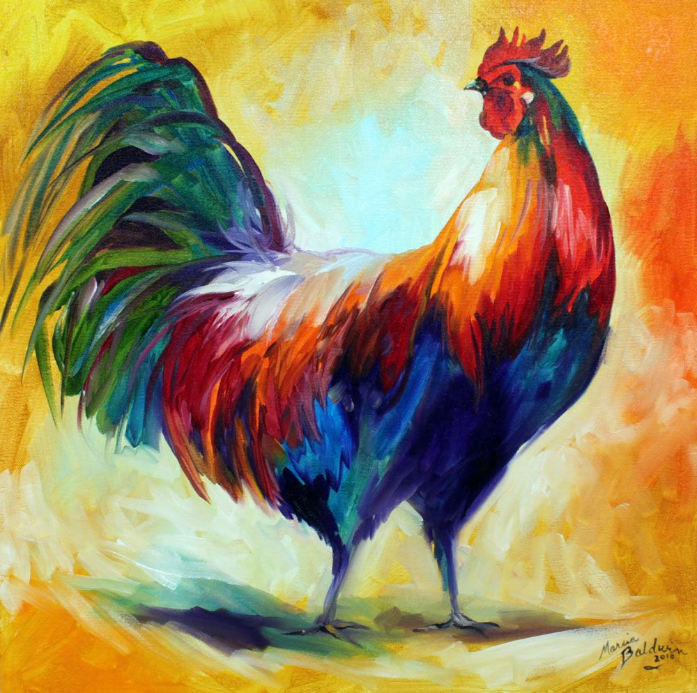 Jack-eh! Designs: Marcia Baldwin's Rooster