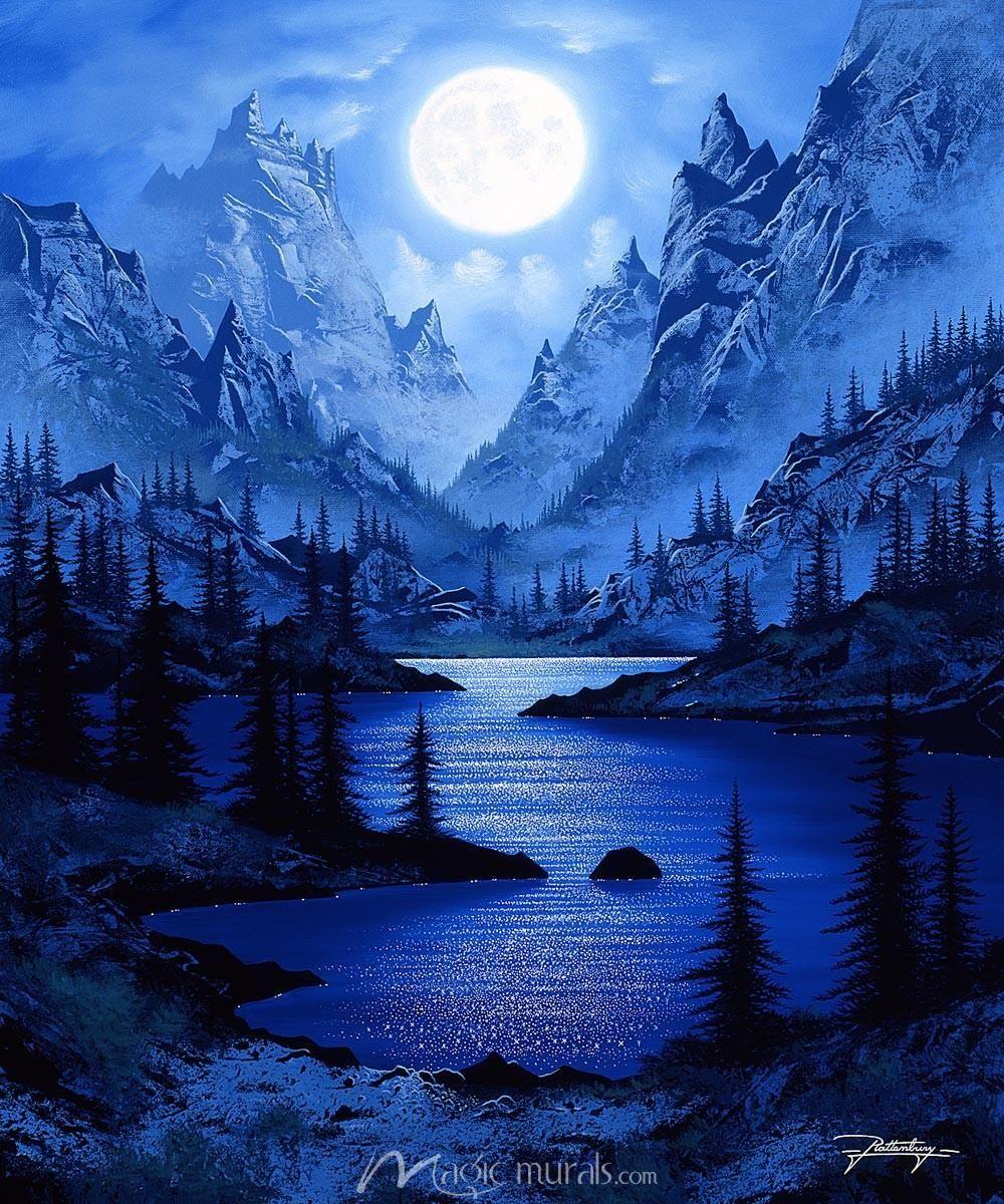 Sierra Moon in 2020 Landscape wallpaper