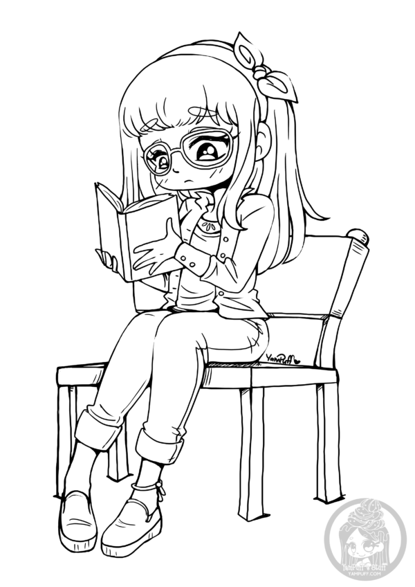 Chibis Free Chibi Coloring Pages Yampuff S Stuff In 2020 Chibi Coloring Pages Coloring Pages Cute Coloring Pages